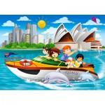 Puzzle  Castorland-066025 Sydney