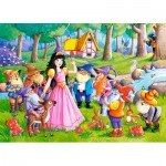 Puzzle  Castorland-066032 Snow White and the Seven Dwarfs