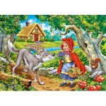 Puzzle  Castorland-066117 Little Red Riding Hood
