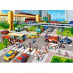 Puzzle  Castorland-066131 City Rush