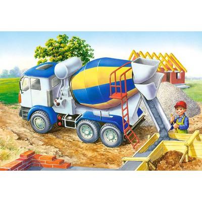 Puzzle Castorland-06618 Construction site
