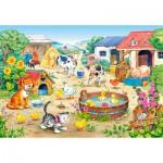 Puzzle  Castorland-06663 The Farm