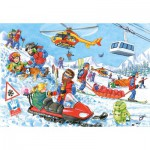 Puzzle  Castorland-06694 Mountain rescues