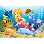 Puzzle  Castorland-06854 Little Mermaid