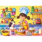 Puzzle  Castorland-06885 Little Cook