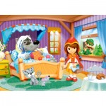 Puzzle  Castorland-06915 Little Red Riding Hood