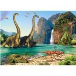 Puzzle  Castorland-06922 Dinosaurs