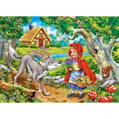 Puzzle Castorland-070015 Little Red Riding Hood