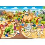 Puzzle  Castorland-070046 Dinosaur Park