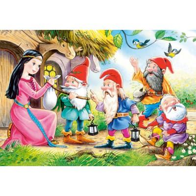 Puzzle Castorland-08521-B02 Snow White and the 7 Dwarfs