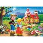 Puzzle  Castorland-08521-B04 Hansel and Gretel