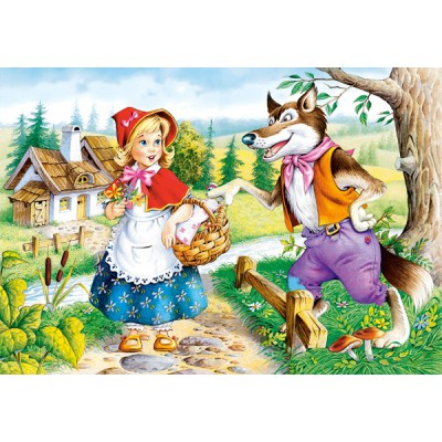Puzzle Castorland-08521-B12 Red Riding Hood