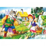 Puzzle  Castorland-08521-B14 Red Riding Hood