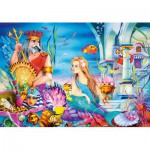 Puzzle  Castorland-08521-B15 The Little Mermaid