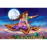 Castorland-08521-B2-2 Mini Puzzle - Aladdin
