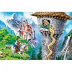 Castorland-08521-B2-5 Mini Puzzle - Raiponce