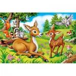 Castorland-08521-B2-6 Mini Puzzle - Bambi