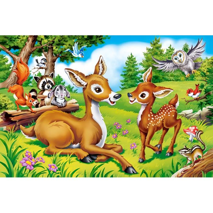 Mini Puzzle - Bambi