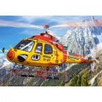 Castorland-08521-LO2 Mini Puzzle - Helicopter