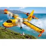 Castorland-08521-LO3 Mini Puzzle - Helicopter