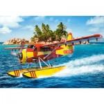 Castorland-08521-LO4 Mini Puzzle - Seaplane