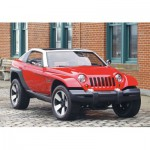 Puzzle  Castorland-08521-M1 4 x 4 off-road car