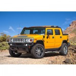 Puzzle  Castorland-08521-M8 4 x 4 off-road car: Hummer