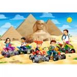 Castorland-08521-P7 Mini Puzzle - Egypt