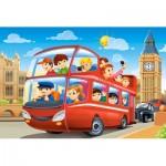 Castorland-08521-P8 Mini Puzzle - London