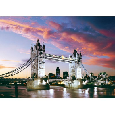 Castorland-101122 Jigsaw Puzzle - 1000 Pieces - London