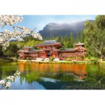 Castorland-101726 Jigsaw Puzzle - 1000 Pieces - Byodo-In Temple
