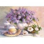 Castorland-102006 Jigsaw Puzzle - 1000 Pieces - Trisha Hardwick : Flower Day