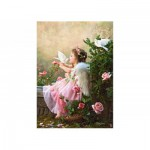 Castorland-102297 Jigsaw Puzzle - 1000 Pieces - Angels and Doves