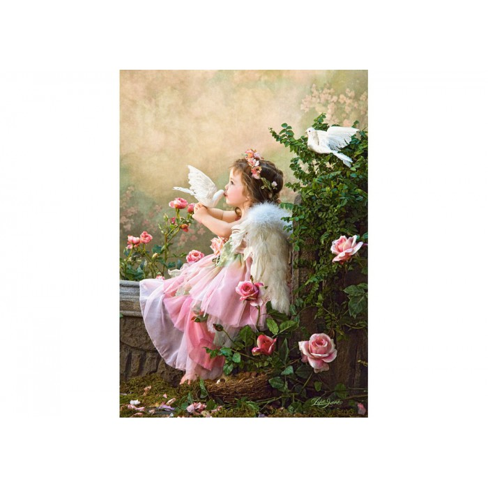 Jigsaw Puzzle - 1000 Pieces - Angels and Doves