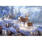 Castorland-102501 Jigsaw Puzzle - 1000 Pieces - In the Middle of the Forest