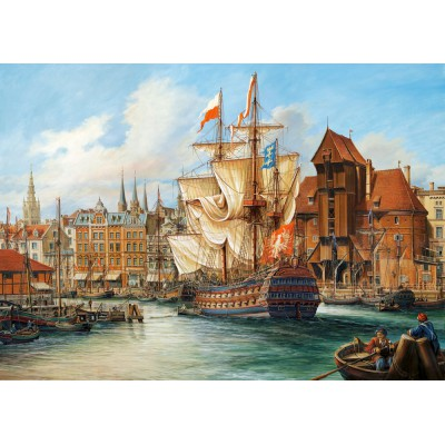 Puzzle Castorland-102914 Poland: Old Gdansk