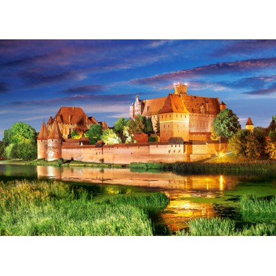 Puzzle Castorland-103010 Poland: Malbork Castle