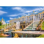 Puzzle  Castorland-103102 Peterhof Palace, St. Petersburg, Russia
