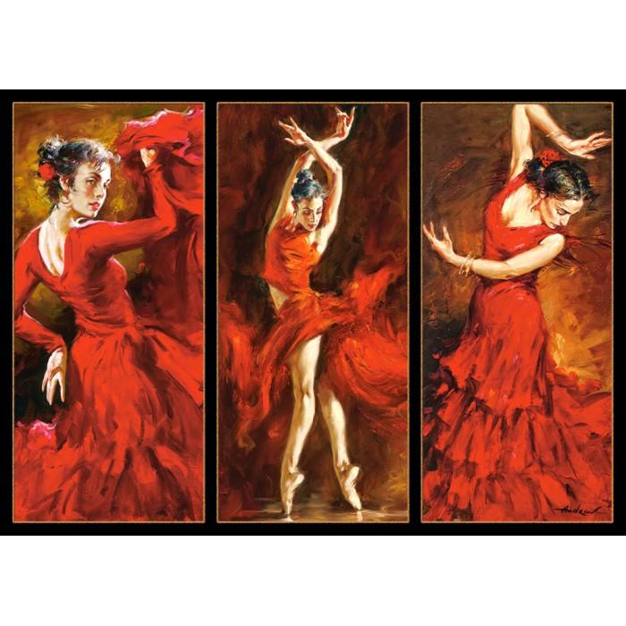 Crimson Dancers