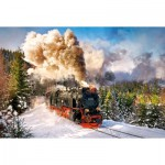 Puzzle  Castorland-103409 Steam Train