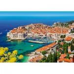 Puzzle  Castorland-103720 Dubrovnik, Croatia