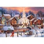 Puzzle  Castorland-103850 Hope runs Deep