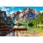 Puzzle  Castorland-103980 Dolomites, Italy