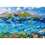 Puzzle  Castorland-104017 Ocean Panorama