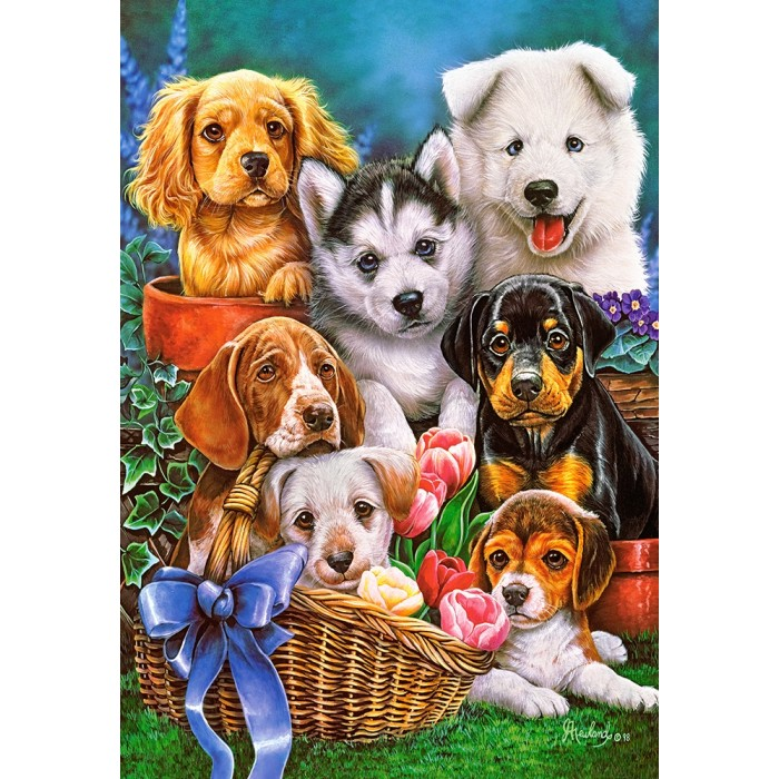 Jigsaw Puzzle Dogs Jigsaw Puzzle