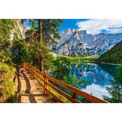 Puzzle Castorland-104109 Brais Lake, Italy