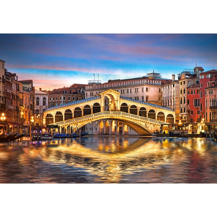 Rialto by Night, Venice