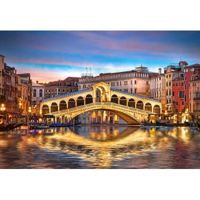 Puzzle Castorland-104215 Rialto by Night, Venice