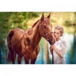 Puzzle  Castorland-104390 Beauty and Gentleness