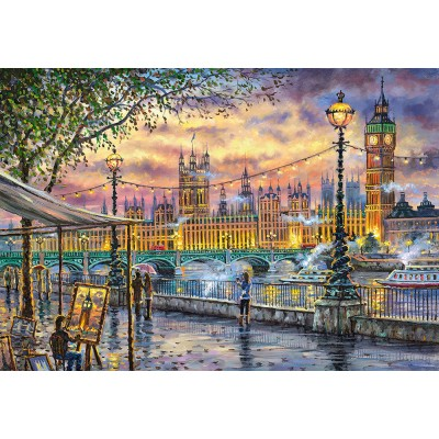 Puzzle Castorland-104437 Inspirations of London